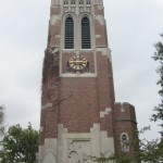 KISSING BENEATH BEAUMONT TOWER