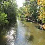 WALKING ALONG THE RED CEDAR RIVER