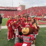 BRUTUS BUCKEYE & CHEERLEADERS