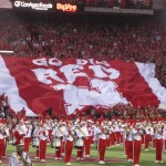 THE MARCHING RED