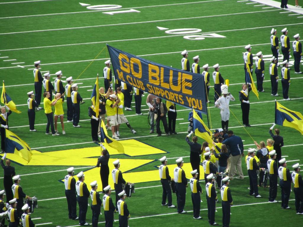 """Go Blue"" Banner's History"