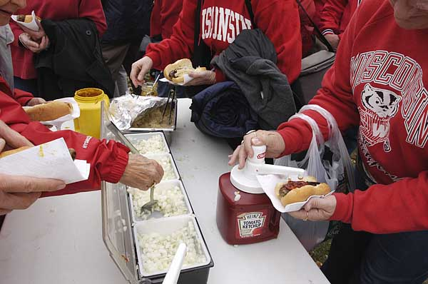 Camp Randall Food Options