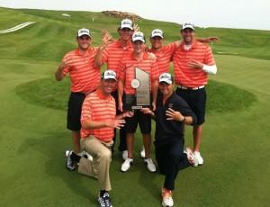 Illini Men's Golf Big Ten Champs 2012