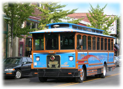 Explore Lafayette Abord the Trolly!