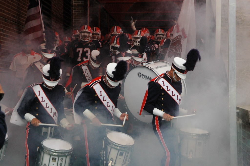 Game Day with the Marching Illini