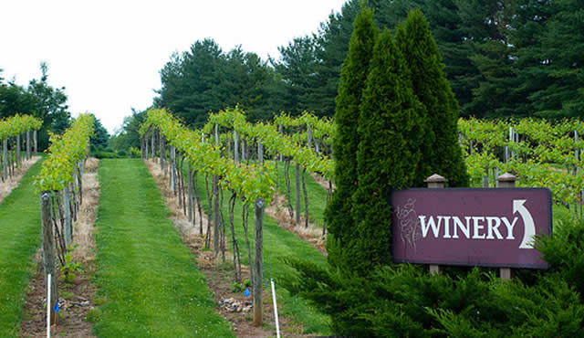 Wineries Around the Big Ten