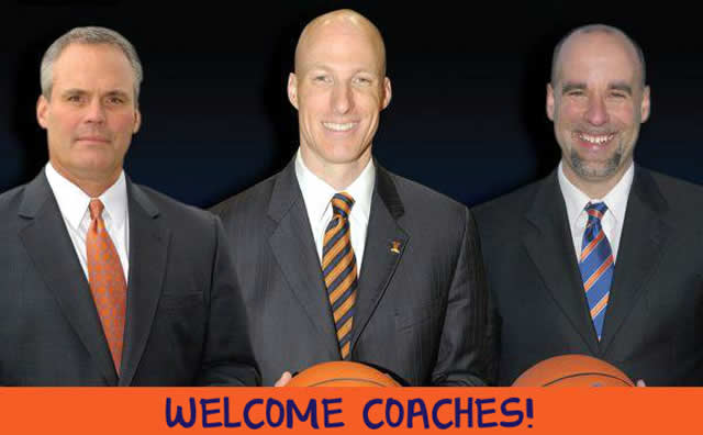 Illini Welcome the 'Big Three' New Coach…