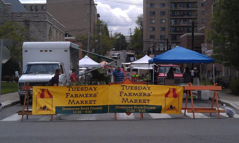 State College Farmer's Market Offers Fre…
