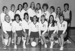unl women's volleyball team courtesy of Lincoln Journal Star